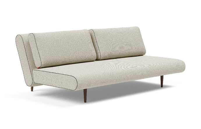 Unfurl Lounger Sofa Bed by Innovation - 527 Mixed Dance Natural.