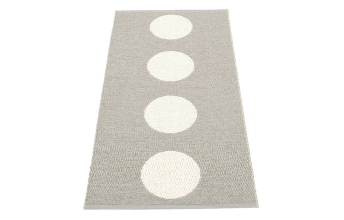 Vera Warm Grey & Vanilla Runner Rug by Pappelina - 28