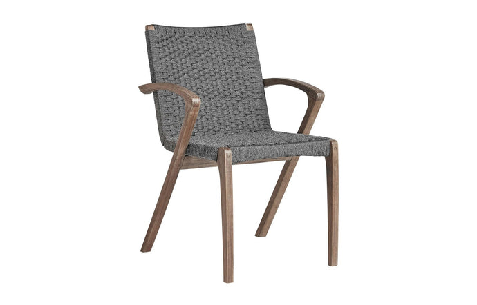 Verge Dining Chair by Modloft - Shades of Gray Cord.