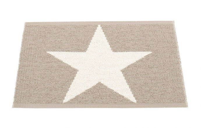 Viggo One Mud & Vanilla Runner Rug - 28