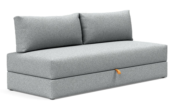 Walis Sofa Daybed by Innovation - 538 Melange Grey (stocked).