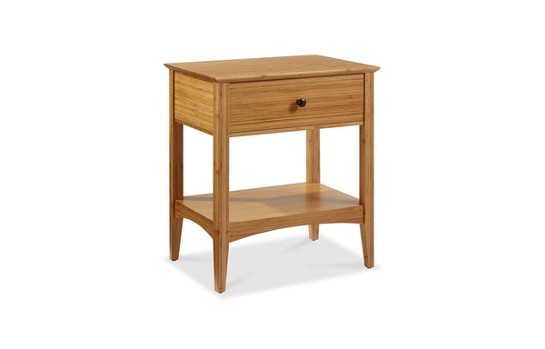 Willow Caramelized 1 Drawer Nightstand by Greenington.