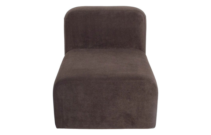Yam Sofa by Sun at Six - Charcoal Fabric.