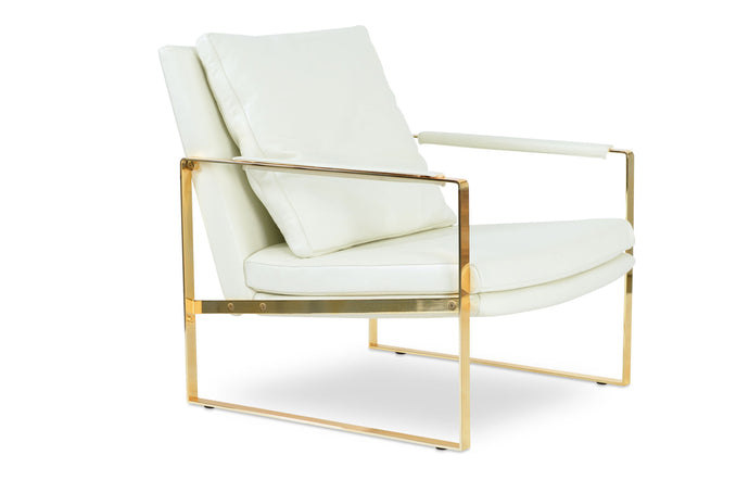 Zara Gold Arm Chair by SohoConcept - Special Order.