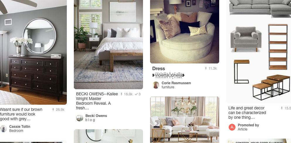 Pinterest for furniture