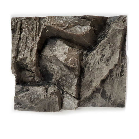 Jungle Bob 3D Aquarium Background Rock Grey Sample 10171