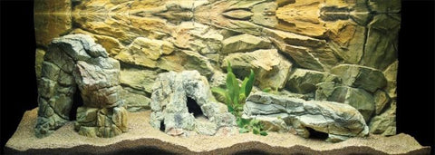 Image of Jungle Bob Aquarium Cave XX-Large Beige 7181