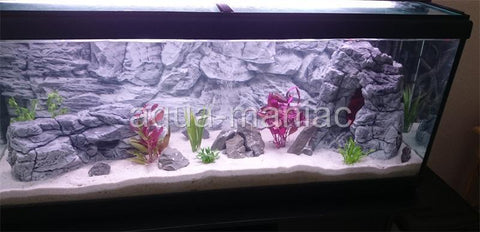 Jungle Bob Aquarium Cave Large Grey