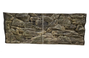 Jungle Bob 3D Aquarium Background 48x25 Inch For 90/120 Gallon 7833 Beige Rock