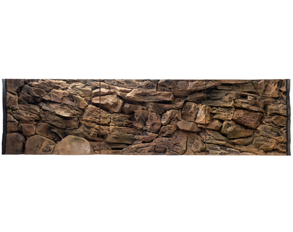 Jungle Bob 3D Aquarium Background 72x29 Inch For 150/210 Gallon 7836 Beige Rock