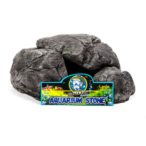 Jungle Bob Aquarium Stone Large Grey 8215