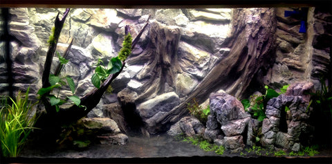 Image of Jungle Bob Aquarium Cave X-Large Grey