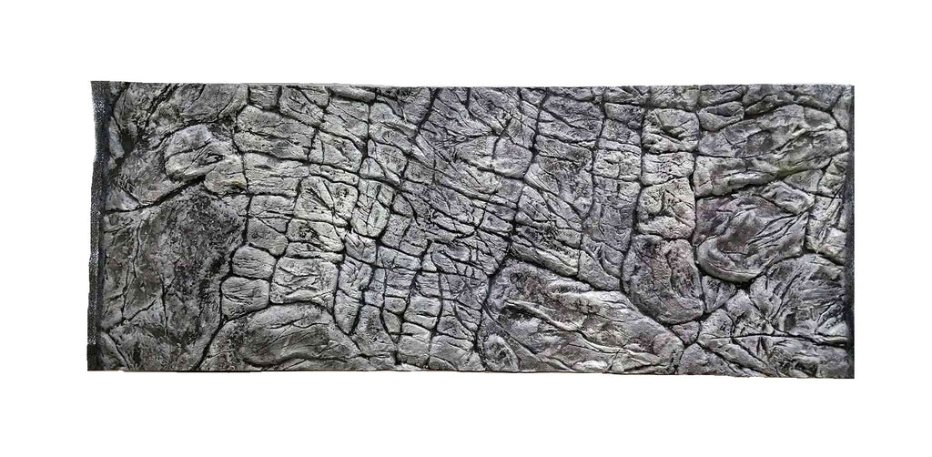 Jungle Bob 3D Aquarium Background 36X17 Inch For 40 Gallon Thin Grey 8300