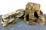 Jungle Bob Aquarium Cave Beige Bundle (Sm, Med, Lg, XL, XXL) 8808