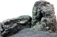 Jungle Bob Set of Grey Caves Large and X large