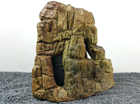 Image of Jungle Bob Aquarium Cave X-Large Beige 7177