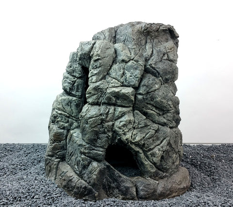 Jungle Bob Aquarium Cave XX-Large Grey