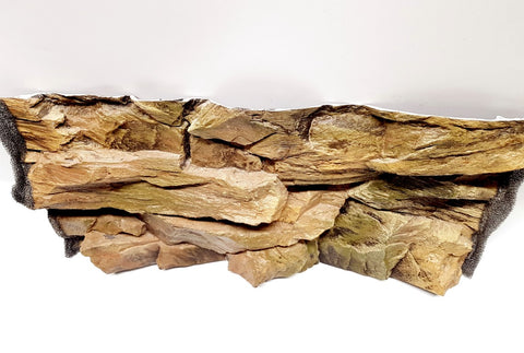 Jungle Bob 3D Aquarium Background 20x12 Inch For 10 Gallon 7809 Rock Beige