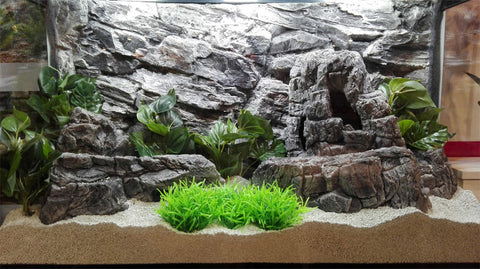 Jungle Bob Aquarium Cave X-Large Grey