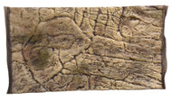 Jungle Bob 3D Aquarium Background 24x12 Inch For 15 Gallon Thin Beige 7779