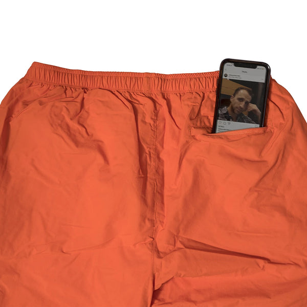 bronze track pants (orange)