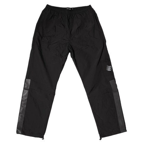 bronze track pants (black)
