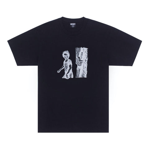 hockey battery tee (black)