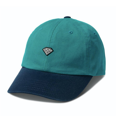 diamond brilliant patch sports cap (teal)