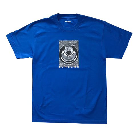 nursing cyberhound tee (royal)