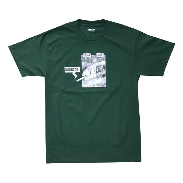 nursing smoking tee (forest)