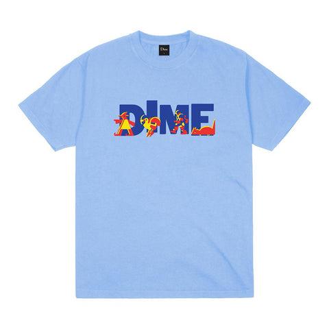 dime toy store tee (carolina blue)