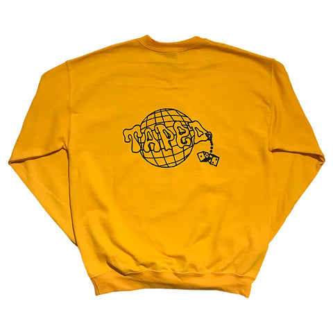 dime hiker crewneck (royal)