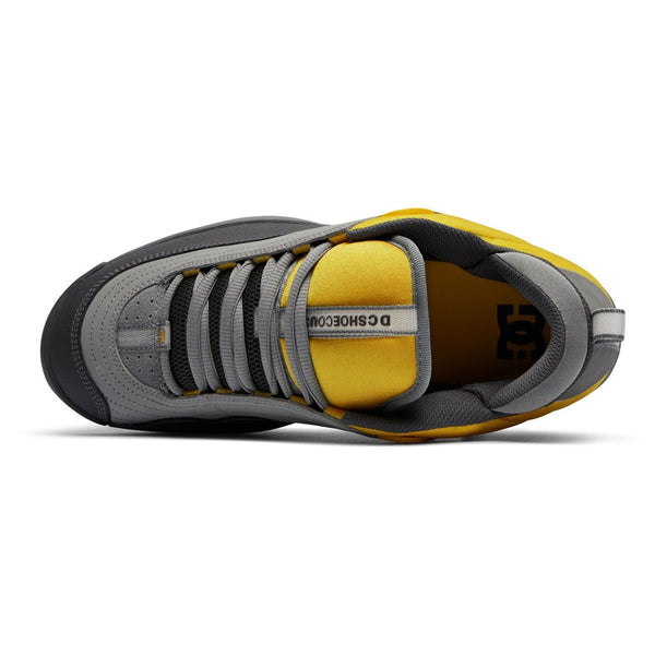 dc williams OG shoes (grey/yellow)