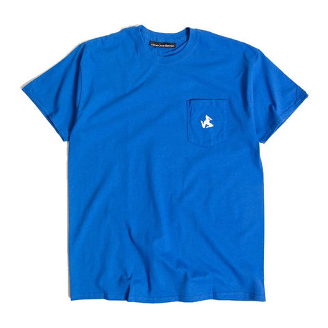 917 legs pocket tee (royal)