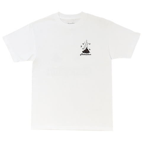 mehrathon same shit tee (white)
