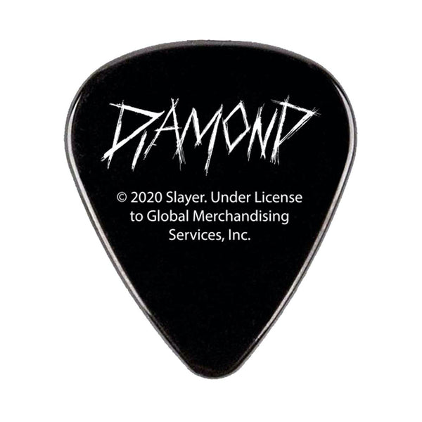 diamond x slayer guitar picks (black/5 pack)