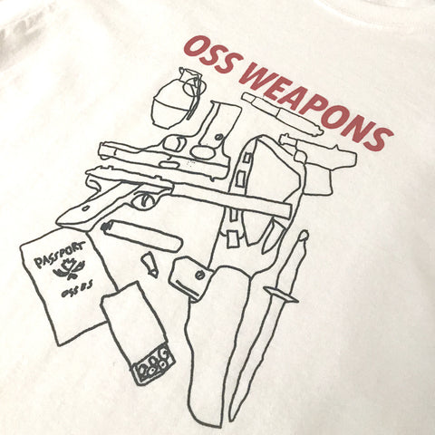 oss weapons 2 long sleeve (white)