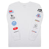 mehrathon gasolina long sleeve (white)