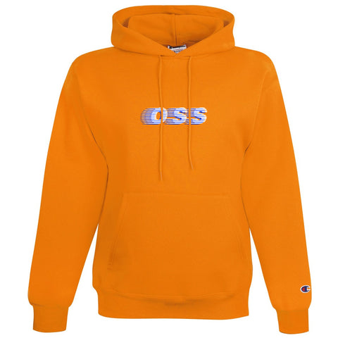 oss x champion speedway pullover hoodie (gold)