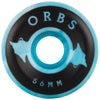 "welcome ""orbs"" specter swirl wheels (blue/white)"