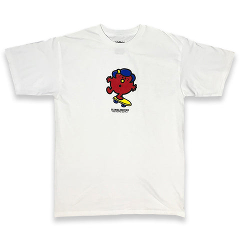 lil miss mongo tee (white)