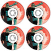 primitive marvel red tye dye wheels (53mm)