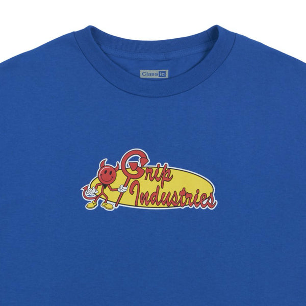 classic grip industries tee (royal)
