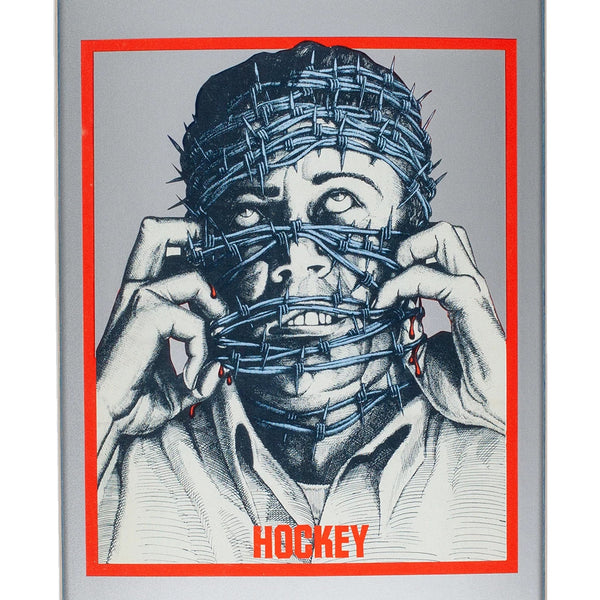 hockey piscopo barbwire board