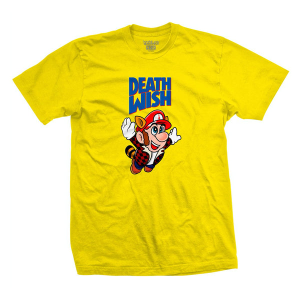 deathwish bros tee (yellow)
