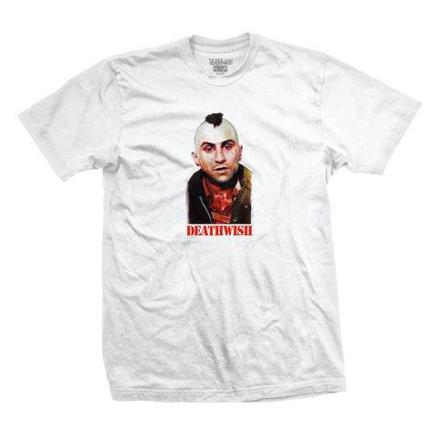 deathwish you talking to me tee (white)