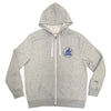 oss body building club zip-up hood (ash)