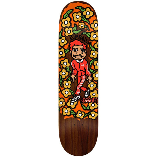 "krooked gonz sweatpants board (8.5"")"