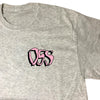 oss scream tee (ash)