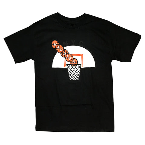 hardies hoops tee (black)